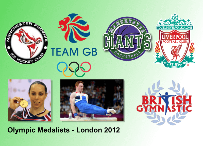 Our Elite Athletes treated by our Manchester physiotherapy and wirral physio specialists