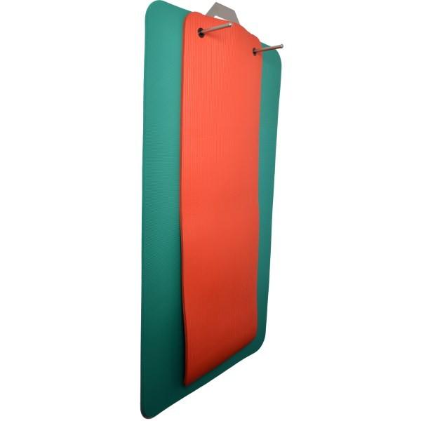 mambo exercise mat wall hanger