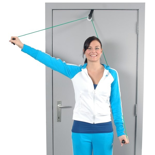 physio shoulder rope pulley